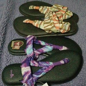 Yoga sling sandles..2 prs
